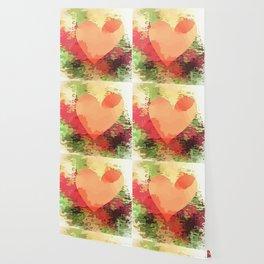 Colourful Heart Wallpaper