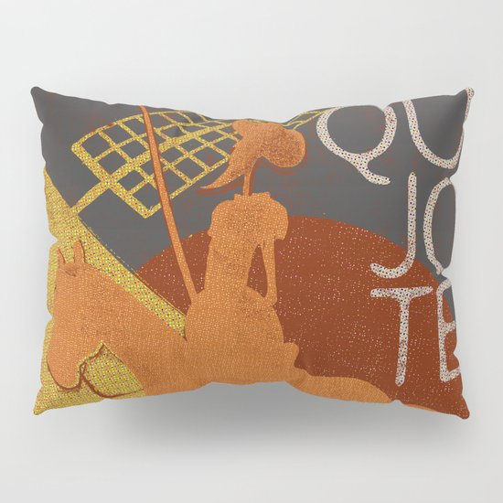 Books Collection: Don Quixote Pillow Sham