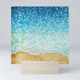 Watercolor Sea G564 Mini Art Print