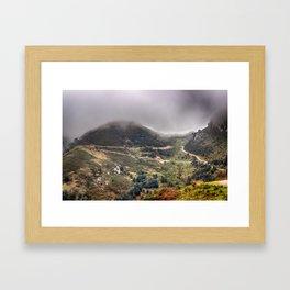 Peaks of Europe 2 Framed Art Print