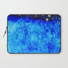Royal Blue Ceramic Glaze Laptop Sleeve