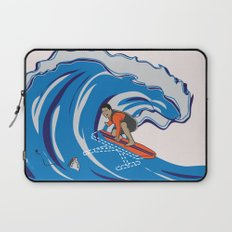 Pressing Waves Laptop Sleeve
