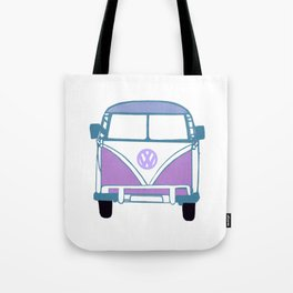 Retro Van Tote Bag