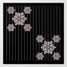 snowflake 7 Art Print