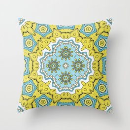 soothing colors for room decor Throw Pillow