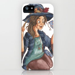 Tea Witch iPhone Case