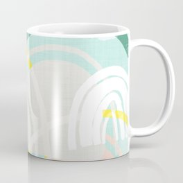 Somewhere - mint & peach Coffee Mug