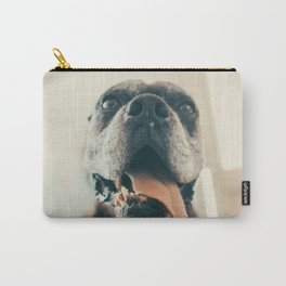 Tiger BOXER DOG flashy photography Carry-All Pouch