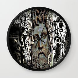 Phillip of Macedon series 6 Wall Clock