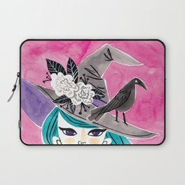 Witchy Girl Laptop Sleeve