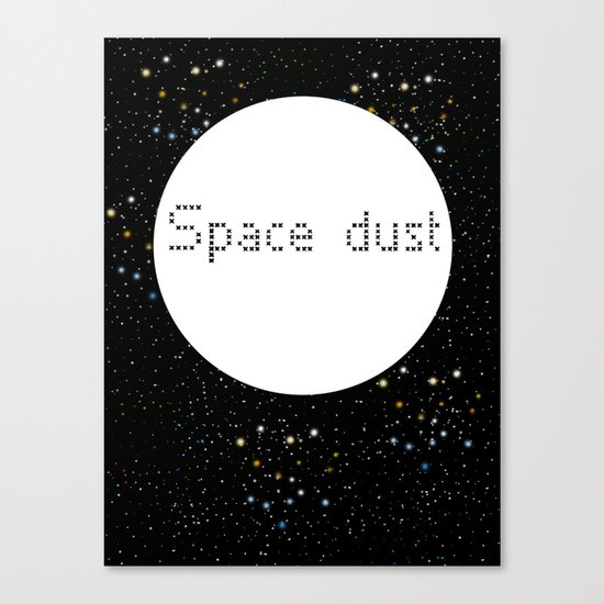 Space dust Canvas Print