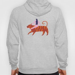 Night safari poster Hoody