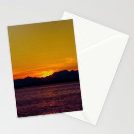 Seattle twilight -2 Stationery Cards