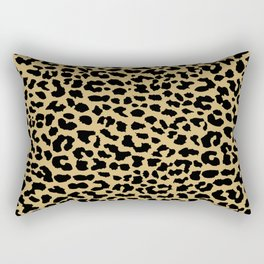 Neon Classic Leopard Rectangular Pillow