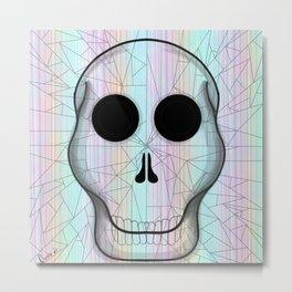 Shattered Skull  Metal Print