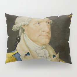 Vintage George Washington Portrait Painting (1800) Pillow Sham