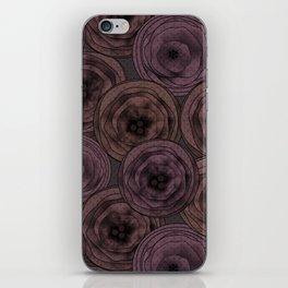 Chocolate velvet . iPhone Skin