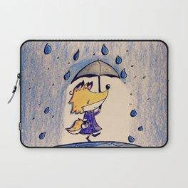 Fox in Rain Laptop Sleeve