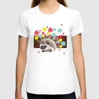 hedgehog T-shirts featuring hedgehog by Caracheng