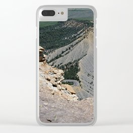 View from top of Mesa Verde Clear iPhone Case