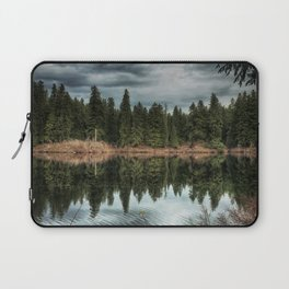 Across the Lake Laptop Sleeve