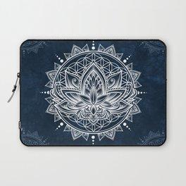Lotus Mandala (white) Laptop Sleeve