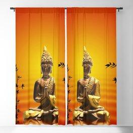 Buddha 14 Blackout Curtain
