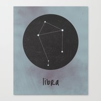 libra Canvas Prints featuring Libra by snaticky