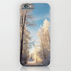 Let There Be Light - Frost Trees in Winter Slim Case iPhone 6s