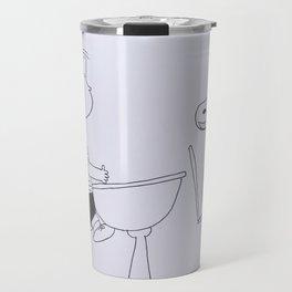 Charlie Brown and Snoopy Travel Mug