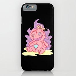 Pastel Gothic Voodoo Doll Witchcraft iPhone Case