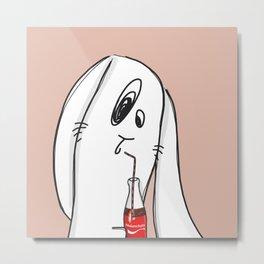 Melancholy's Coke Metal Print
