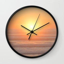 Northern Califoria Sunset Wall Clock