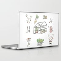 calendar Laptop & iPad Skins featuring Calendar Garden`15 by Inga Provorova