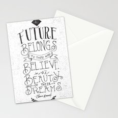 THE FUTURE BELONGS TO THOSE WHO... Stationery Cards