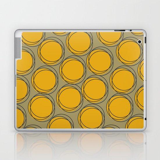 Yellow Polka Laptop & iPad Skin
