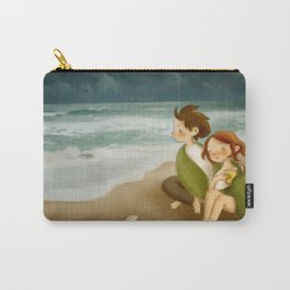 listen to the sea Carry-All Pouch
