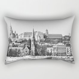 A Nice Day in Budapest Rectangular Pillow