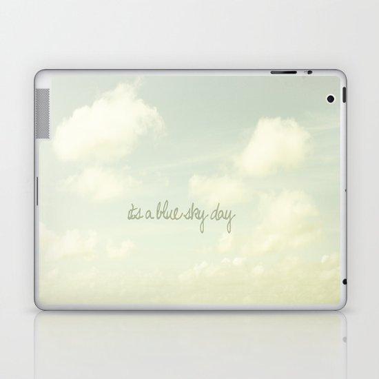 Its a blue sky day II Laptop & iPad Skin