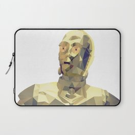 C3po Poly Art Laptop Sleeve