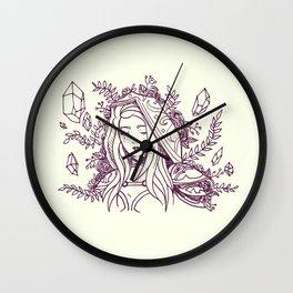 Maiden of Ice Wall Clock