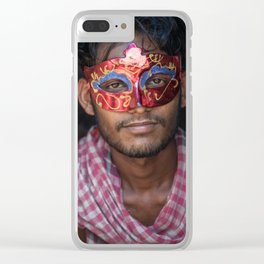 Masquerade Clear iPhone Case