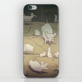 WhiteMouses iPhone Skin