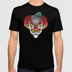 Badass Clown Mens Fitted Tee MEDIUM Black