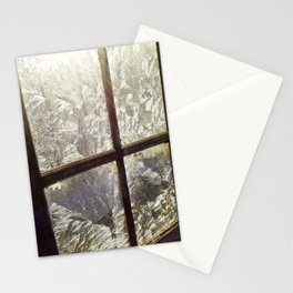 Frosty Window Stationery Cards