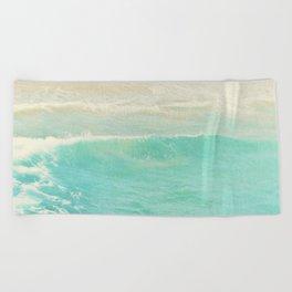 beach ocean wave. Surge. Hermosa Beach photograph Beach Towel