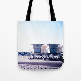 Moonlight Beach Tote Bag