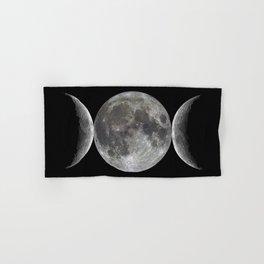 Triple goddess   Moon   Moons   Goddess and God Hand & Bath Towel