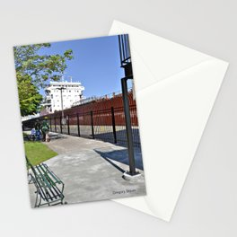 Freighter Locking Down Stationery Cards