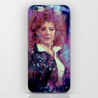 river song iPhone & iPod Skins featuring River Song by Sirenphotos